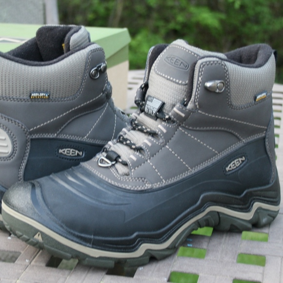 7c2445850f0 KEEN DURAND POLAR SHELL 10 Mens Outdoor Boot NEW
